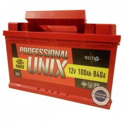 АКБ UNIX 100 а/ч п.п