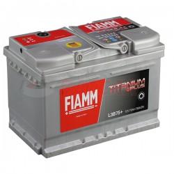 АКБ FIAMM 6ст-75 а/ч TitaniumPRO пр/обр низкий