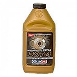 Жидкость тормозная LUXOIL ДОТ-4 (455г)