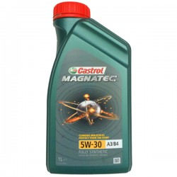 Масло Castrol Magnatec 5W30 А3/В4, SM/CF (1л) синт.