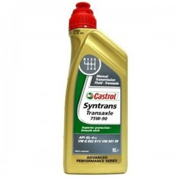Масло Castrol Syntrans Transaxle 75w/90 GL-4 (1л) замена