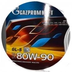 Масло ГАЗПРОМ 80W90 GL-5 (1л)