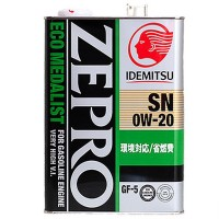 Масло IDEMITSU Zepro Eco Medalist 0W20 (4л)