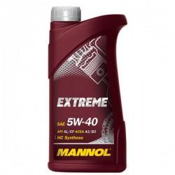 Масло Mannol EXTREME 5W40 SL/CF A3/B3 (1л) синт.