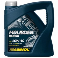 Масло Mannol MOS Benzin 10W40 SL/CF (4л) п/с