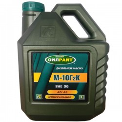 Масло OIL RIGHT М10 Г2К (СС) 5л