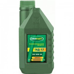 Масло OIL RIGHT ТАД-17,ТМ-5-18 80W90 GL-5 (1л)