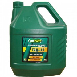 Масло OIL RIGHT ТАД-17,ТМ-5-18 80W90 GL-5 (10л)