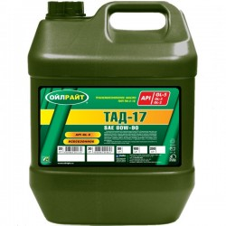 Масло OIL RIGHT ТАД-17,ТМ-5-18 80W90 GL-5 (20л)