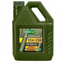 Масло OIL RIGHT ТСП-15К (3л)