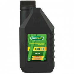 Масло OIL RIGHT ТЭП-15В 90W GL-2 нигрол 1л