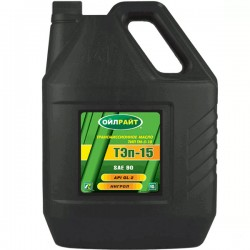Масло OIL RIGHT ТЭП-15В 90W GL-2 нигрол 10л