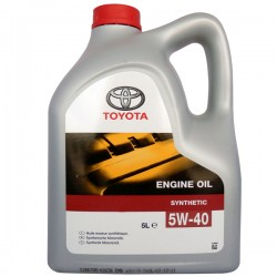 Масло TOYOTA Motor Oil 5W40 SL/CF (5л)