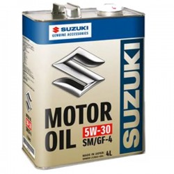 Масло моторное Suzuki синт 5W-30 4 л