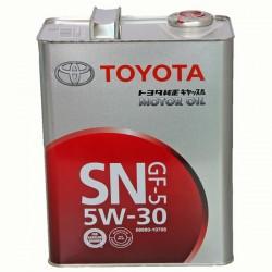 Масло моторное Toyota синт 5W-30 4 л
