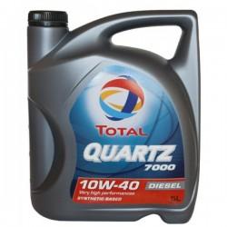 Масло ТOTAL Quartz 7000 Diesel 10W40 CF (5л) п/с