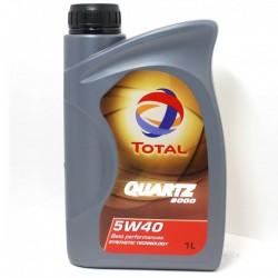 Масло ТOTAL Quartz 9000 5W40 SL/CF (1л) синт