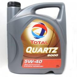 Масло ТOTAL Quartz 9000 5W40 SL/CF (4л) синт