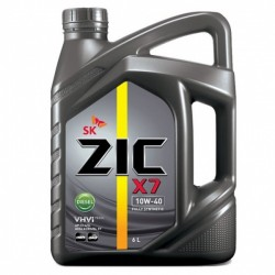 Масло ZIC X7 DIESEL 10W40 CI-4 (6л) синт.
