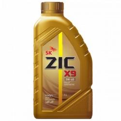 Масло ZIC X9 5W40 SN (1л) синт.