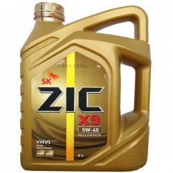 Масло ZIC X9 5W40 SN (4л) синт.