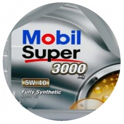 Масло Mobil Super 3000 5w40 1л