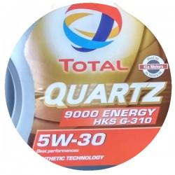 Масло TOTAL QUARTZ 9000 ENERGY HKS 5w30 1л